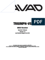 TRIUMPH vs Operators Manual