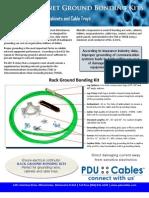 Rack Ground Bonding Kit Product Cut Sheet