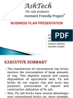 business plan on flyash bricks