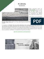 flyash bricks presentation