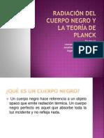 Radiación del cuerpo negro y la teoría de planck