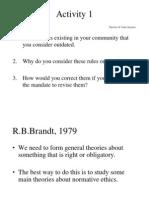 Social Morality Theory
