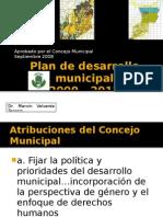 Plan de Desarrollo Municipal Al Concejo Municipal
