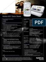 Nokia N97 Data Sheet
