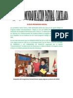 Nota de Prensa Capac