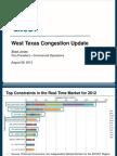 Presentation on West Congestion