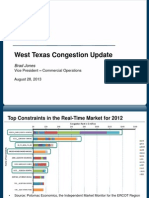 Presentation on West Congestion
