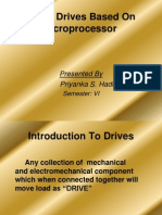 Power Drives Based on Microprocessor