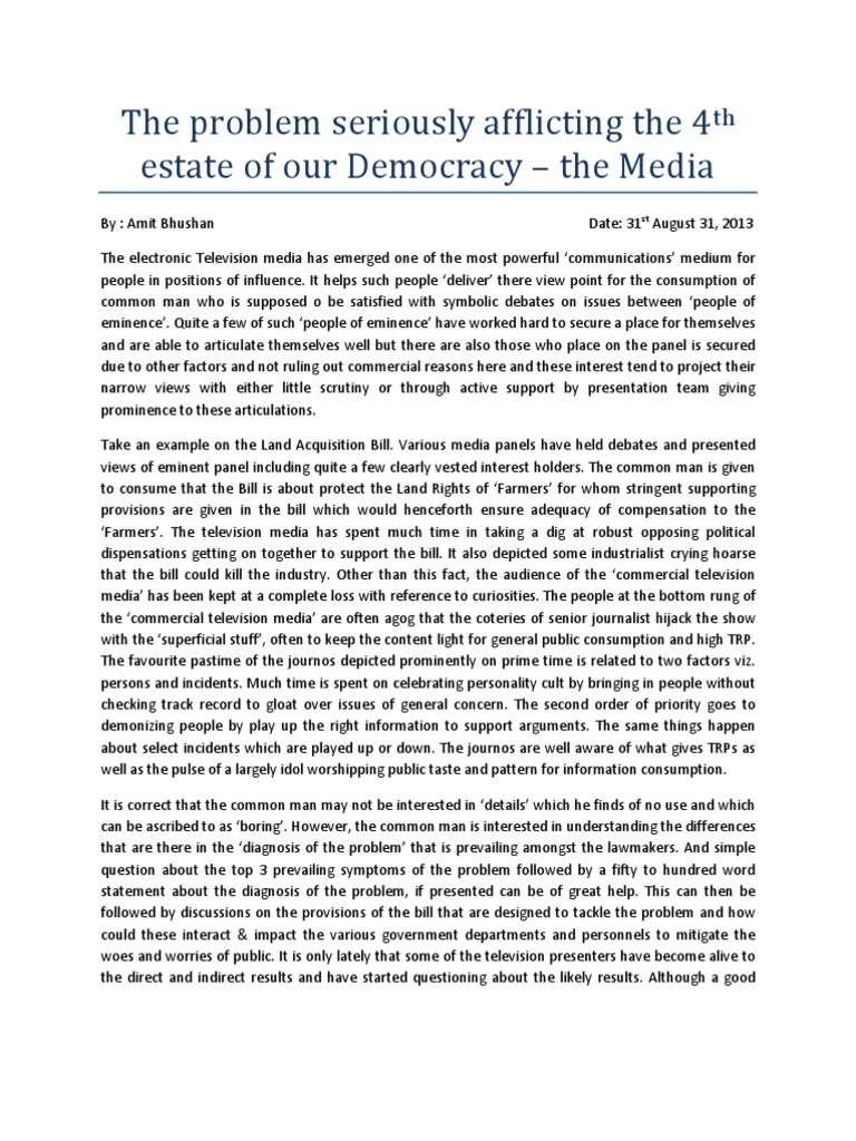 media 4th estate