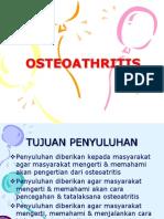 OSTEOATHRITIS penyuluhan
