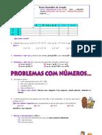 Tarefa 7 Relac3a7c3a3o Entre o Mdc e o Mmc Problemas Com Nc3bameros