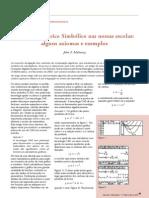 John F. Mahoney - Cálculo Algébrico Simbólico nas nossas escolas - alguns axiomas e exemplos