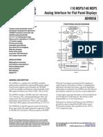 O ADS1232 ADS1234 e São Ponte-sensor, Conversor Analógico-digital