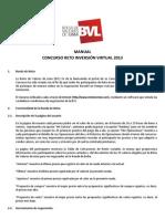 Manual Reto Virtual 2013