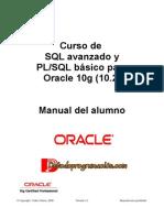 Curso de SQL avanzado y PLSQL básico para Oracle 10g (10.2)