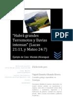 Sismologia Nicaragua