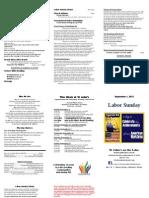 2013 09 01 Bulletin SJUMC