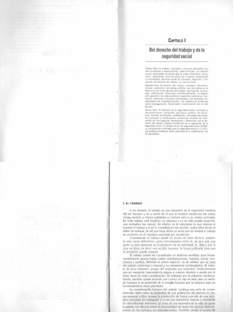 136832278 Curso de Derecho Del Trabajo y de La Seguridad Social Tomo ...