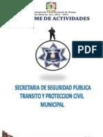 Actividades de Seg. Pub. Mpal. Atoyac de Alvarez, 2013
