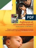 Reglamento de Alimentacion Infantil