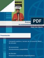 Economía liberal para no economistas y no liberales