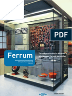 """Steven Lubar """"American Technology Museums- From Machines to Culture,"""" Ferrum, 2011"""