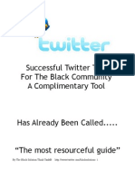 Our Tweets Black Solutions Guide