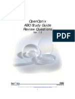 ABO Study Guide Review PDF