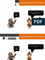 Evolução dos sistemas de comunicação