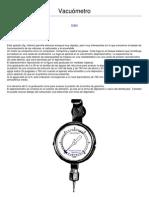 Vacuómetro