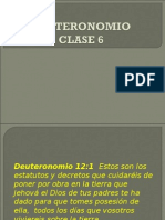 DEUTERONOMIO 6