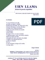 CUADERNO DE POESÍA ARGENTINA