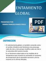 El Calentamiento Global Diapositivas