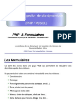 Formulaires Php
