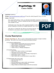 psychology 12 course outline revised
