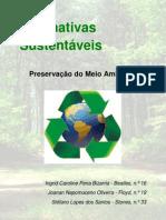 Alternativas Sustentáveis (Finalizado)