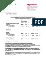 Exxon Mobil Q4 2012 Results Martin Engegren
