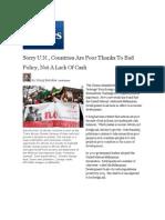 Forbes Article - Failure of UN Development Goals