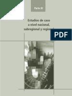 Estudios de Caso a Nivel Nacional, Subregional y Regional