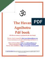 The Havan Agnihotra