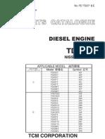 Catalogo Tcm - Motor Td27 - Nissan Diesel
