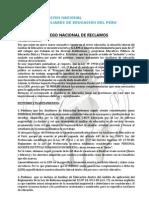 Pliego Nacional de Reclamos 2013-Fenaep - Mejorado