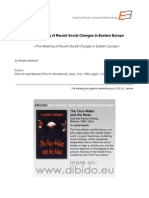 3.4 - Markovic, Mihailo - The Meaning of Recent Social Changes in Eastern Europe (en)