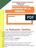 Funciones de La Ciencia