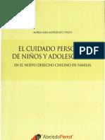 el cuidado personal de los niños y adolescentes - María Sara Rodríguez