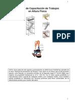 Manual Capacitacion Trabajos en Altura Fisica
