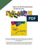 Obras de H. Dubric en la 18ª Feria Internacional del Libro de La Paz 2013
