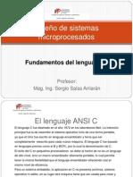 Introducción al ANSI C