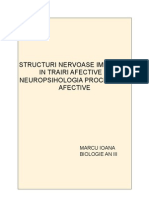 neuropsihologia proceselor afective