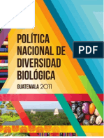Politica Nacional de Biodiversidad